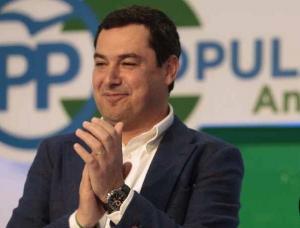 Juanma Moreno, refuerza su liderazgo en el PP andaluz.