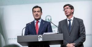 Juan Manuel Moreno y Manuel Marín.