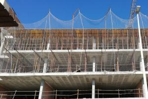 Imagen de archivo de un edificio en construcción.