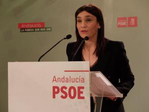 La secretaria de Política Municipal del PSOE de Granada, Olga Manzano.