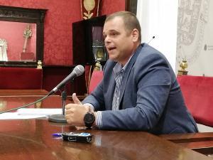 Onofre Miralles, este lunes en rueda de prensa.