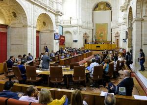 Imagen de la sesión plenaria este jueves.