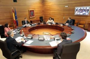 Consejo de Ministros celebrada con carácter no presencial, por videoconferencia el pasado 24 de marzo.