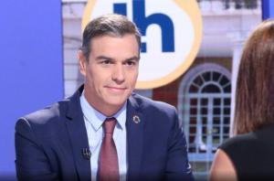 Pedro Sánchez, este lunes.