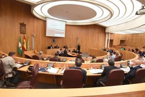 La declaración institucional pide que se cumpla lo que dispone el Estatuto de Autonomía.