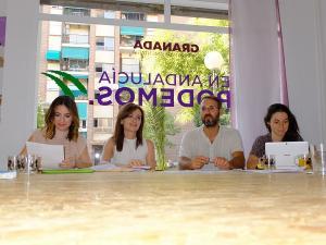 Consejo Ciudadano de Podemos Granada.
