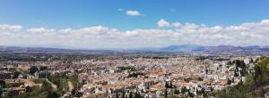 Espectacular vista de la capital granadina.