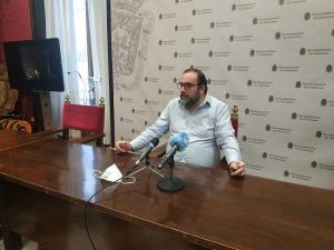 El concejal de Podemos-IU Francisco Puentedura.