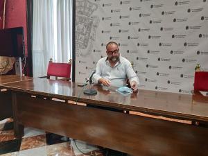 Francisco Puentedura, este viernes en rueda de prensa.