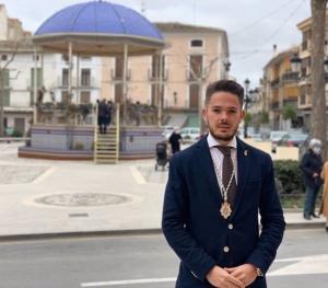 El nuevo alcalde de Huéscar, Ramón Martínez..