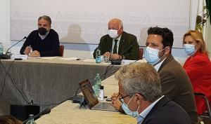 Imagen de la última reunión celebrada el 7 de abril.