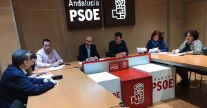 Francisco Conejo se ha reunido este jueves con el Grupo Parlamentario Socialista.