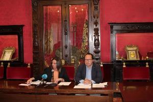 Rocío Díaz y Francisco Ledesma.