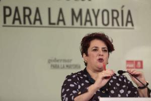 La secretaria general del PSOE de Granada, Teresa Jiménez.