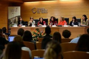 Desarrollo de la jornada sobre la nueva Ley, en la Faculta de Trabajo Social.