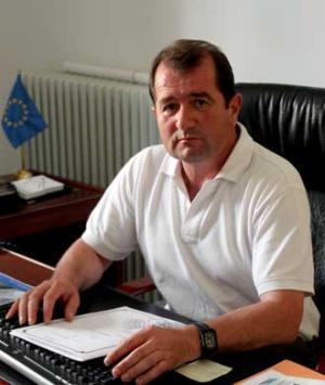 El alcalde de Alhama, Jesús Ubiña.