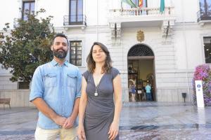 Manuel Merino y Marta Gutiérrez.