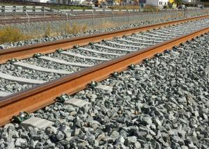 Vías sin trenes en la provincia de Granada.