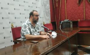 Paco Puentedura, en rueda de prensa.