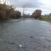 Ahora el Dílar luce como un verdadero río.