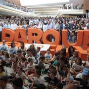 La jornada tuvo una participación multitudinaria, con más de 15.000 personas.